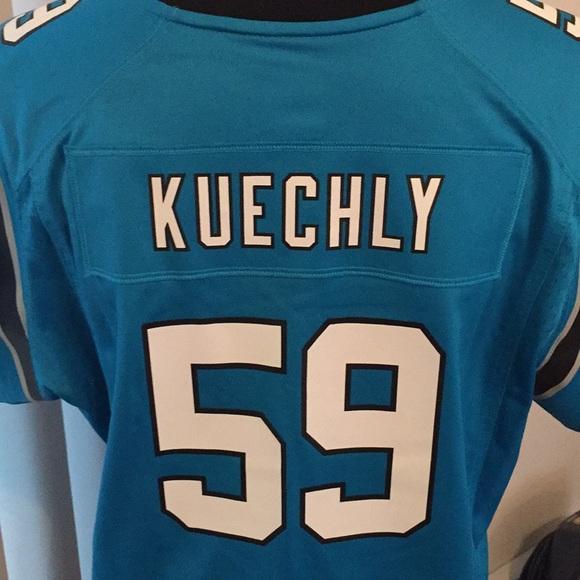 classic fit 7d3ee abb2c #59 Lu Kuechly Carolina Panthers Women's Jersey